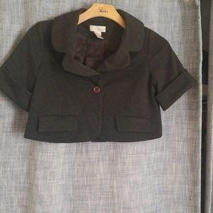 Spiegel crop jacket blazer.